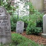 Haunted Mansion's Chilling Tribute Tombstones