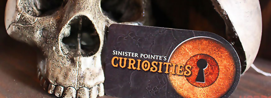 Sinister Pointe Debuts Curiosities