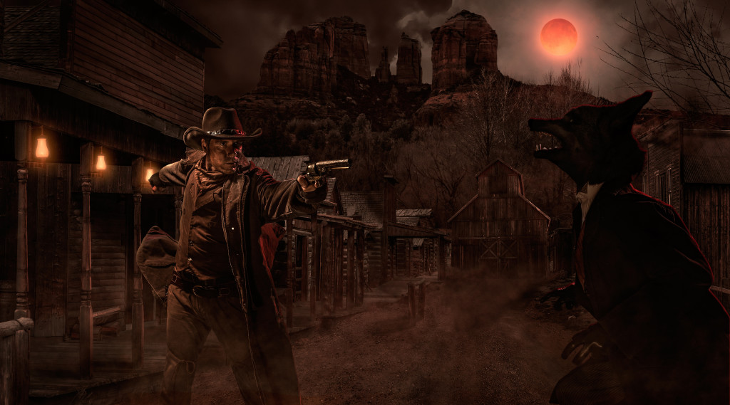 Gunslinger's Grave: A Blood Moon Rises