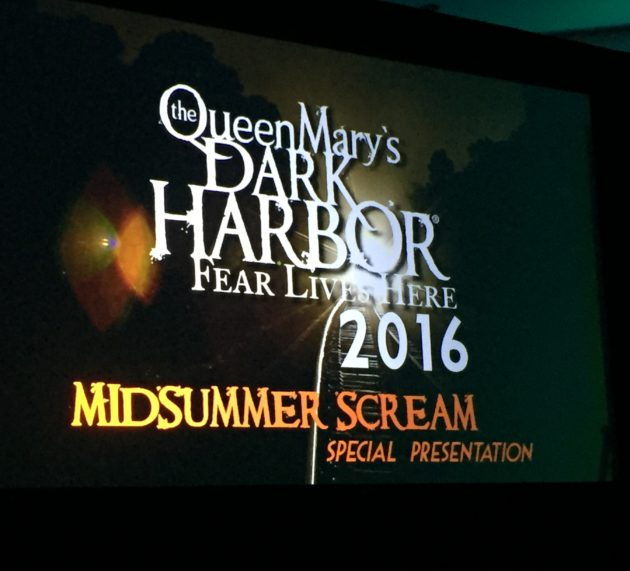 Queen Mary Dark Harbor Introduces Iron Master at Midsummer Scream