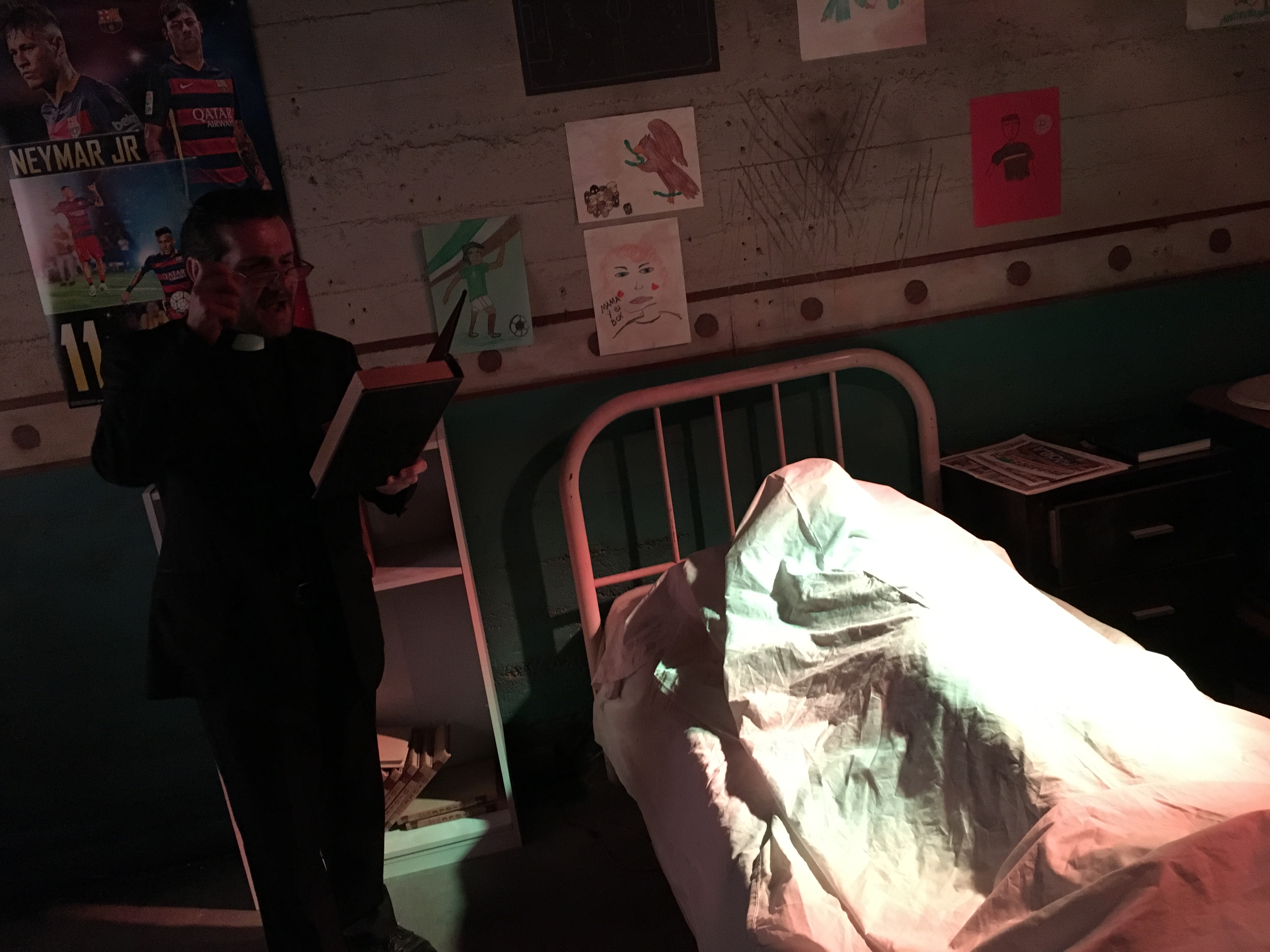 Possess Yourself with The Exorcist Room at Escape Hotel - HorrorBuzz