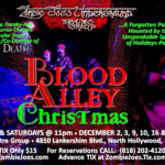 Zombie Joe's Gets Merry with BLOOD ALLEY CHRISTMAS