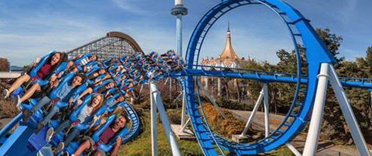 New Floorless Ride PATRIOT to Open April 1st at California's Great America!