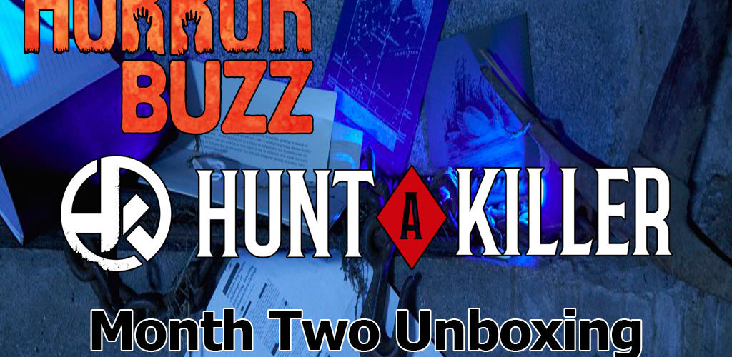 VIDEO: Unboxing Month 2 from Hunt A Killer