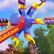 Sol Spin Brings Topsy Turvy Fun to Knott's Berry Farm!