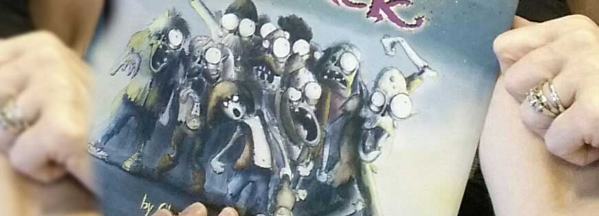 Kindergarten Vs Zombies: A Cautionary Tale of What Book to Bring to School