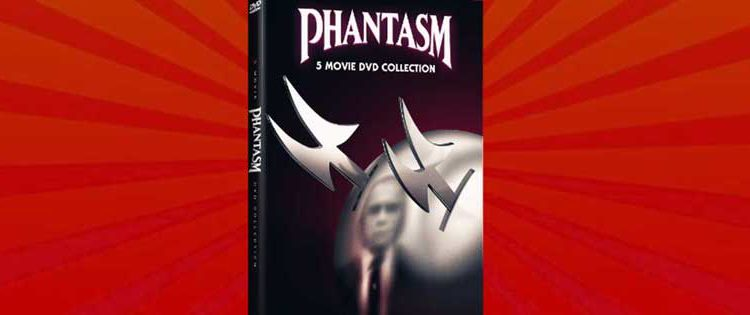 Phantasm 5-Film DVD Box Set Giveaway Arrives Today!