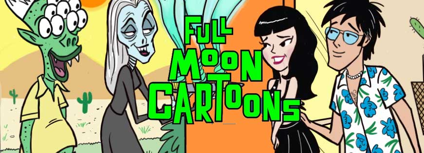 Full Moon Cartoons Episode 2, Welcome to the Neigbordhood