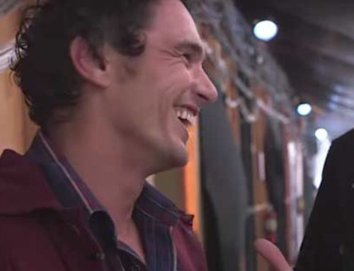 James Franco takes a Swing at Scaring People at Halloween Horror Nights