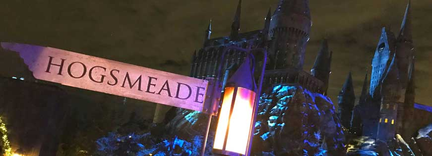 christmas in the wizarding world of harry potter materializes at universal studios hollywood