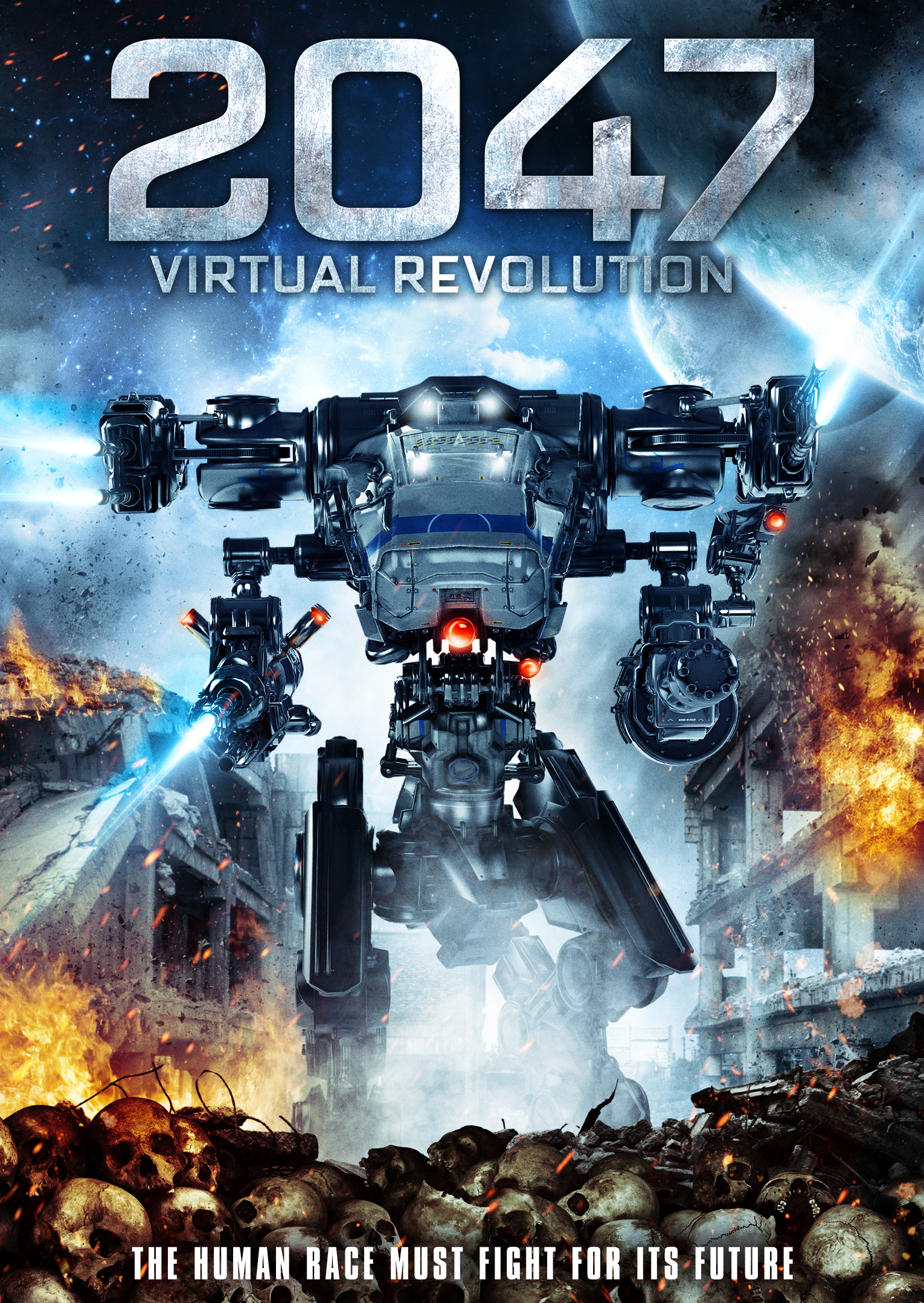 Guy-Roger Duvert's (Eyeborgs) stunning sci-fi thriller 2047: VIRTUAL  REVOLUTION, the recipient of over 40 awards, including Best Film at the Los  Angeles ...