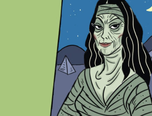 Full Moon Cartoons, The Mummy Finds a Hobby