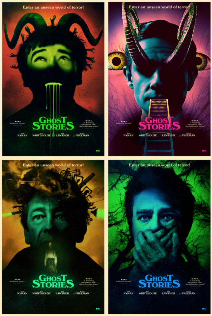 Ghost Stories Reveals new Character Posters Ahead of SXSW