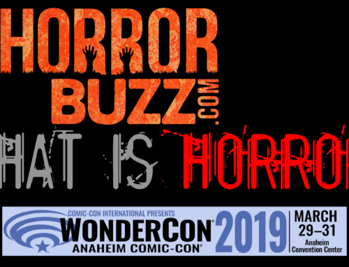 HorrorBuzz is coming to WonderCon 2019