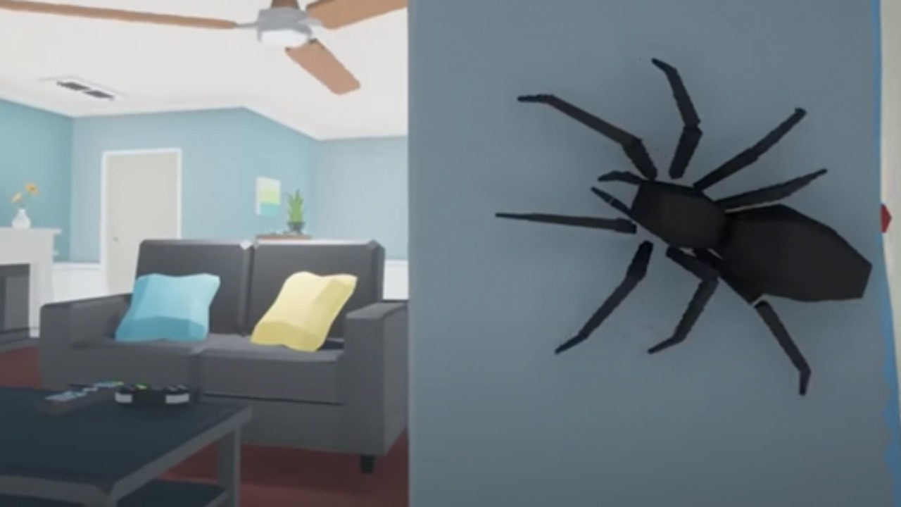 KILL IT WITH FIRE: A New Game About Hunting Spiders - HorrorBuzz